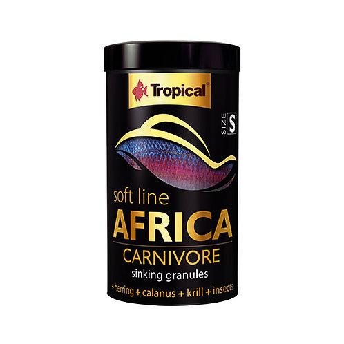 Tropical Softline Africa Carnivore Sinking Granules 250ml