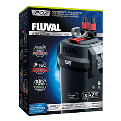 Fluval 207 External Canister Filter