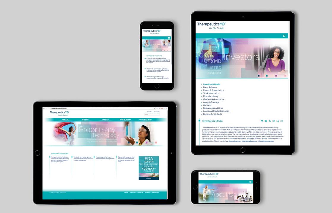 TherapeuticsMD Corporate Site