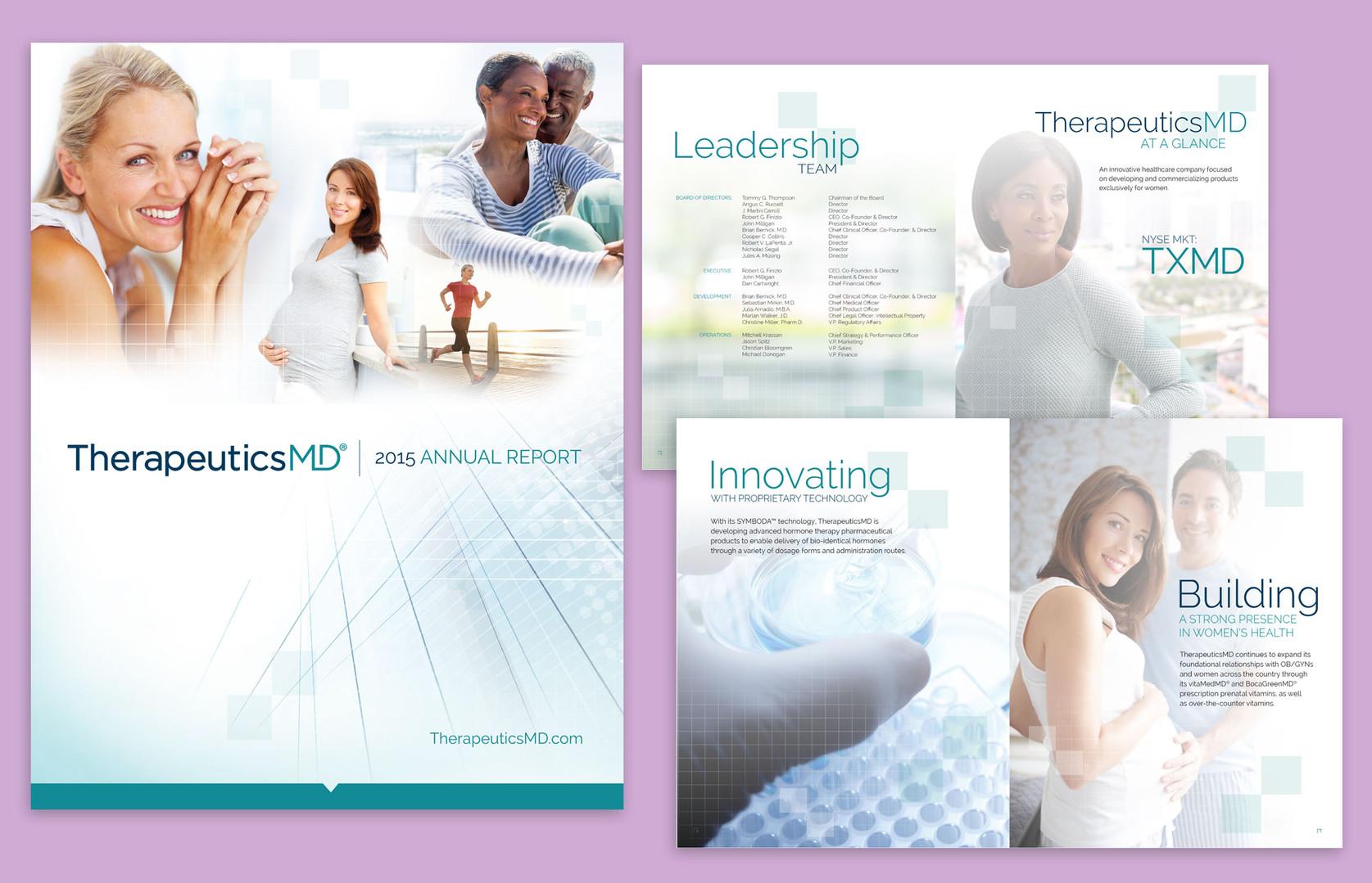 TherapeuticsMD Annual Report