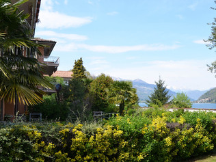 Balkon und Aussicht