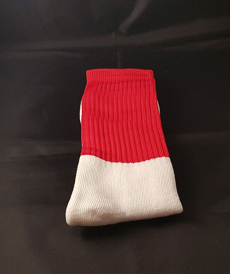 Red Socks without stripes