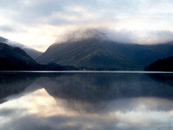 Looking down Buttermere to Fleetwith