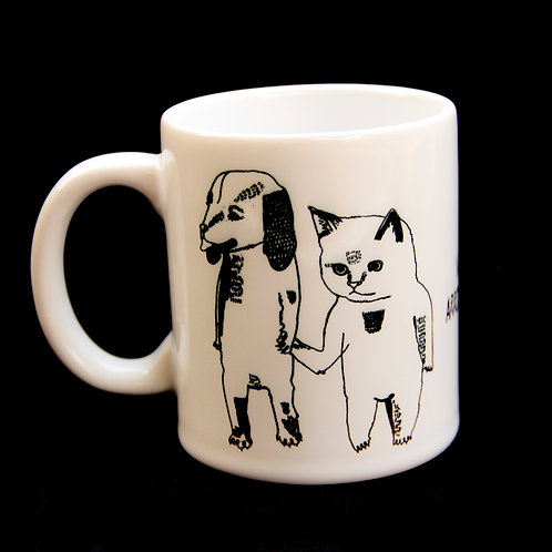 Caneca Vingança Cat Dog