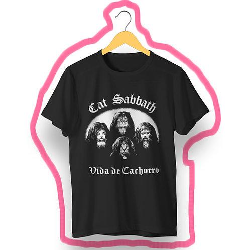 T-shirt Cat Sabbath