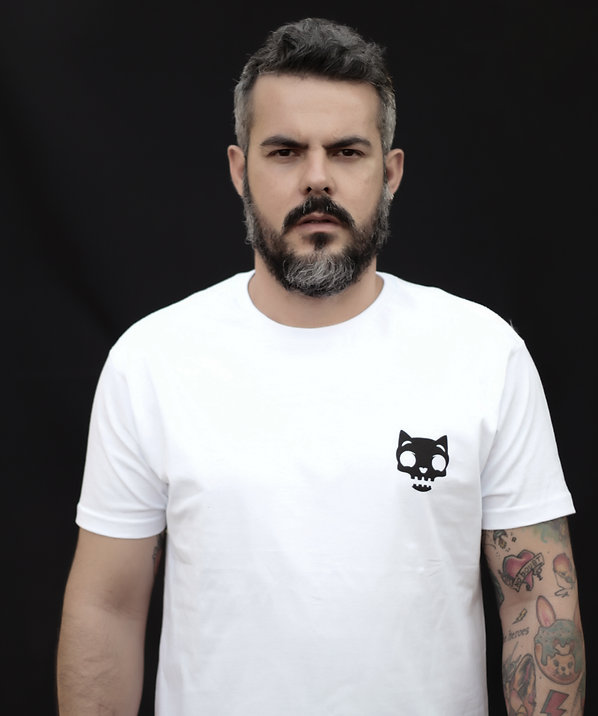 T-shirt Vida de Cachorro Skull