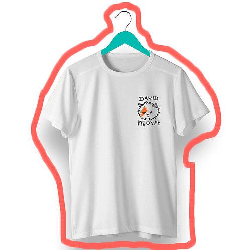 T-Shirt David Meowie