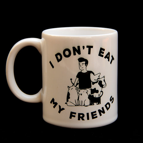 Caneca I Don't eat my Friends