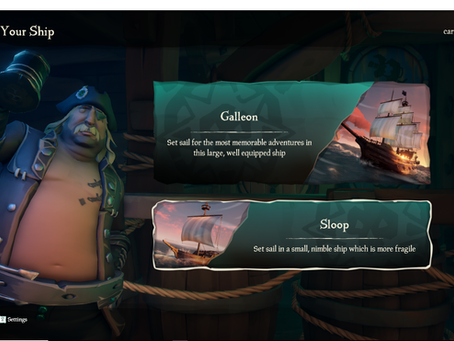 Arrrrrr!  Sea of Thieves! (March 20)
