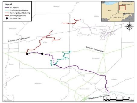 Stonehenge and UGI Acquire Pine Run Midstream Natural Gas Gathering System