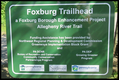 Foxburg Bike Trail in Foxburg PA
