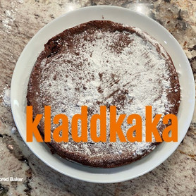Day 4: Kladdkaka - Swedish Sticky Chocolate Cake