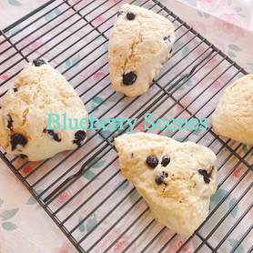 Day 75: Blueberry Scones