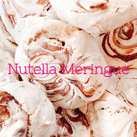 Day 78: Nutella Meringues