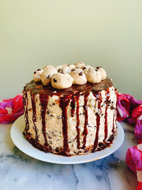 Day 361: Cookie Dough Cake