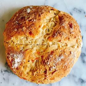 Day 294: Cheese and Herb Irish Soda Bread