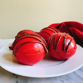Day 320: Red Velvet Hot Chocolate Bombs