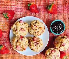 Day 354: Sugar-Free Strawberry Muffins