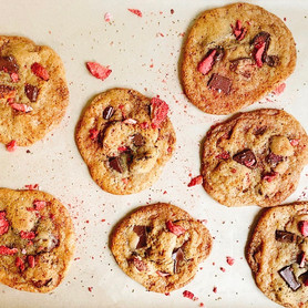 Day 299: Strawberry Chocolate Chip Cookies