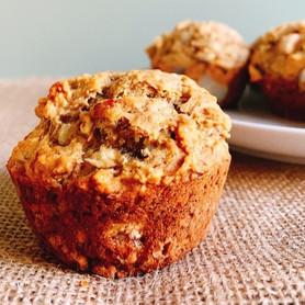 Day 291: Sugar-Free Pear Muffins