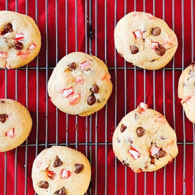 Day 288: Peppermint Chocolate Chip Cookies