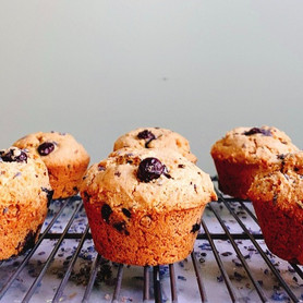 Day 301: Lavender Blueberry Muffins
