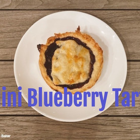 Day 11: Mini Blueberry Tarts