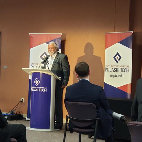 UA – Pulaski Tech Receives $2.5 million Federal EDA Grant for STEM Park