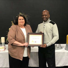 Dedicated employee retires after 10 years of employment