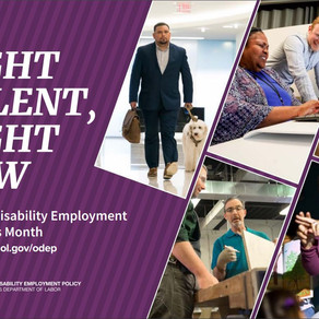 Celebrating National Disability Employment Awareness Month