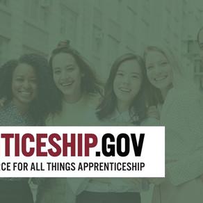 The U.S. Department of Labor announces the launch of Apprenticeship.gov
