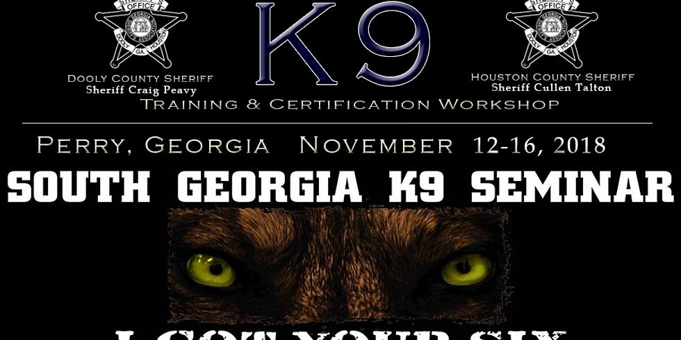 9TH ANNUAL SOUTH GEORGIA K9 SEMINAR
