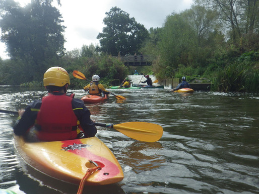 District Kayak Camp - 28th to 29th September