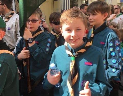 Congratulations Nathan - Chief Scout Gold Award