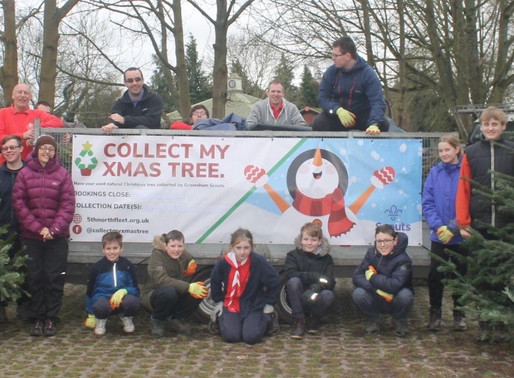 Collect my Xmas Tree - 5th Northfleet