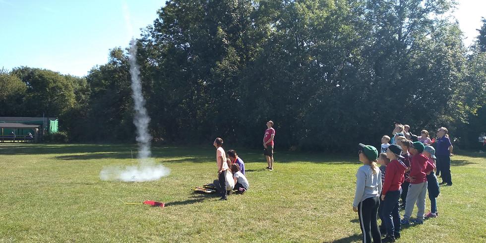 Water Rockets - District Explorers