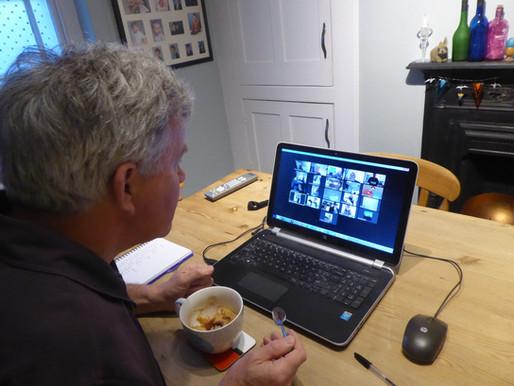Explorer Scouts explore virtual meetings in lockdown