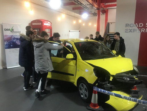 Explorers learn about Road Safety