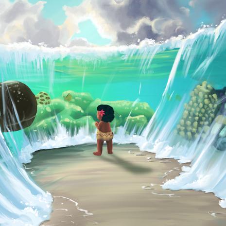 Moana Meets the Ocean