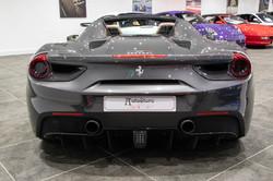 Ferrari 488 Spider Grey-5