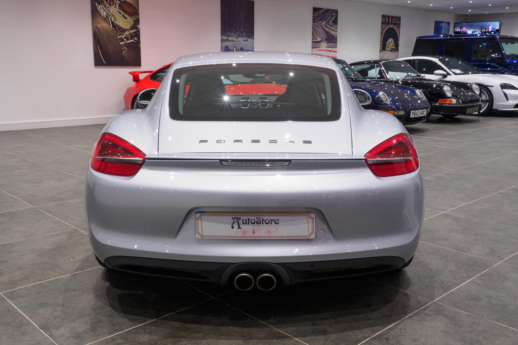 Porsche 981 Cayman S-3