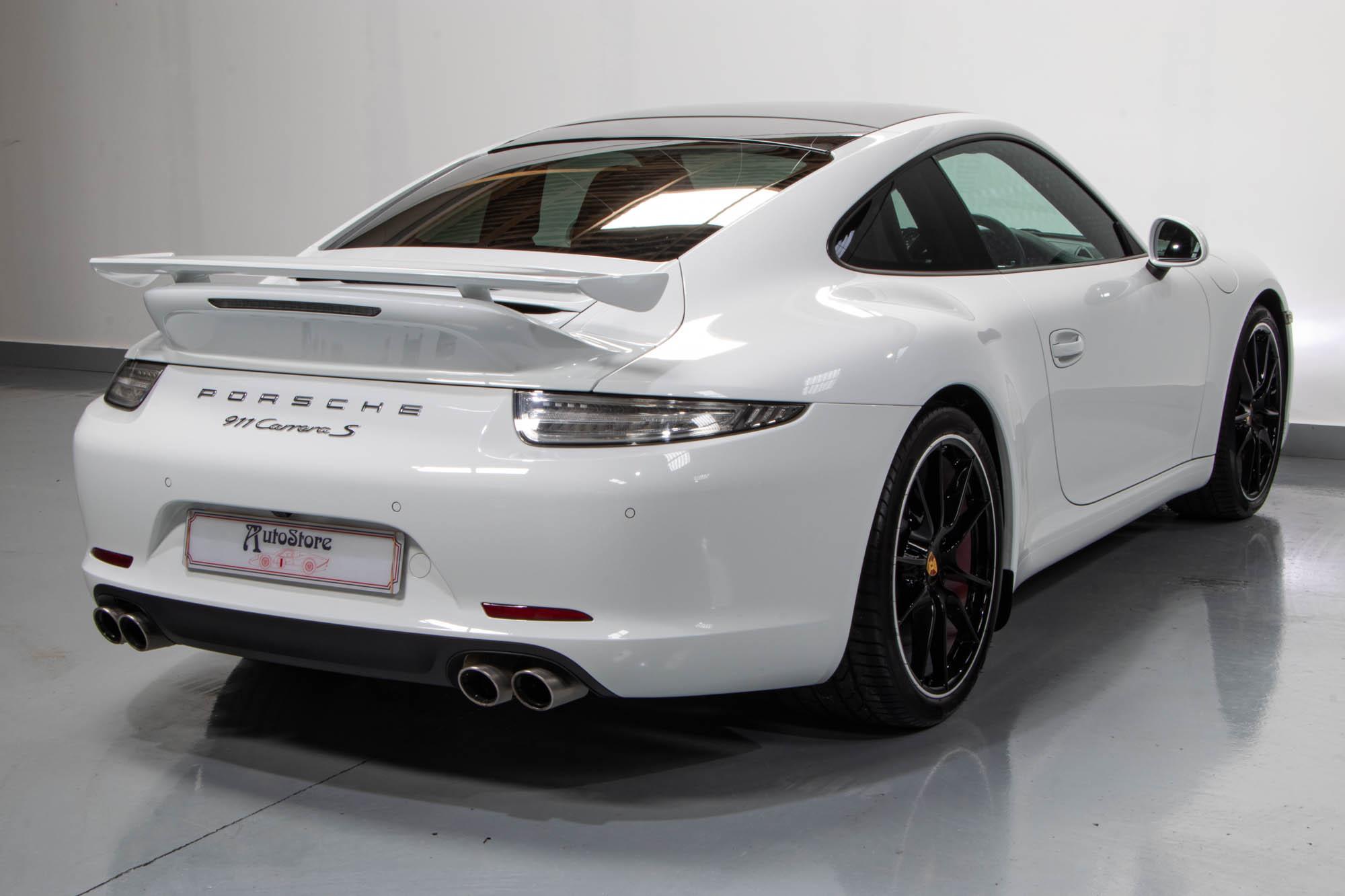 991 Carrera S White -8