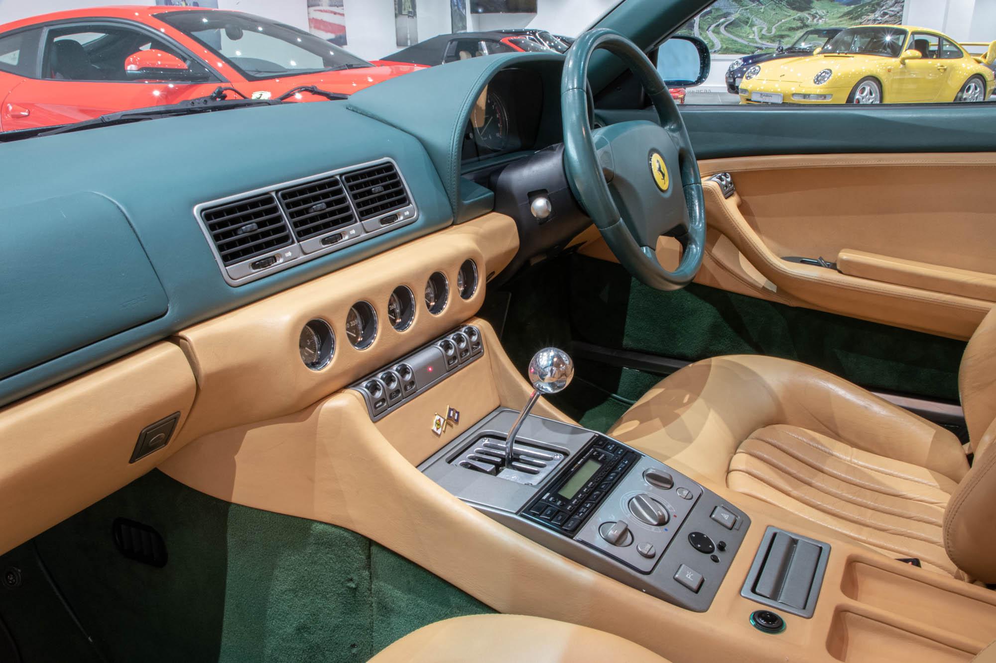 Ferrari 456 Green - Details-1