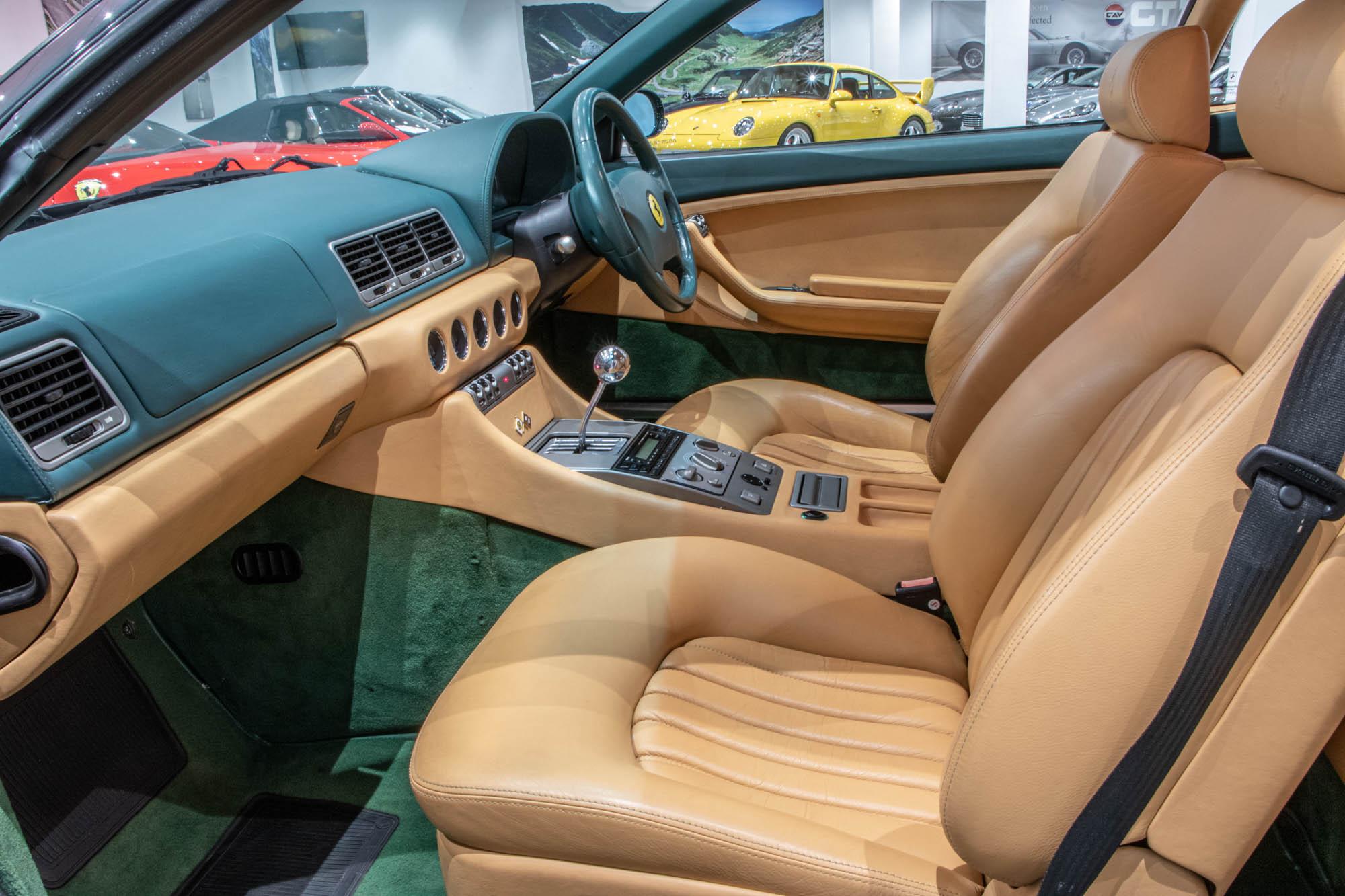 Ferrari 456 Green - Details-2