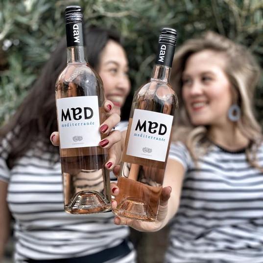 De zomer begint pas met een heerlijk glas MAD rosé