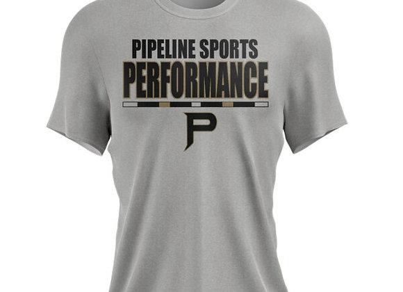 PSP Performance Tshirt Stripe Logo