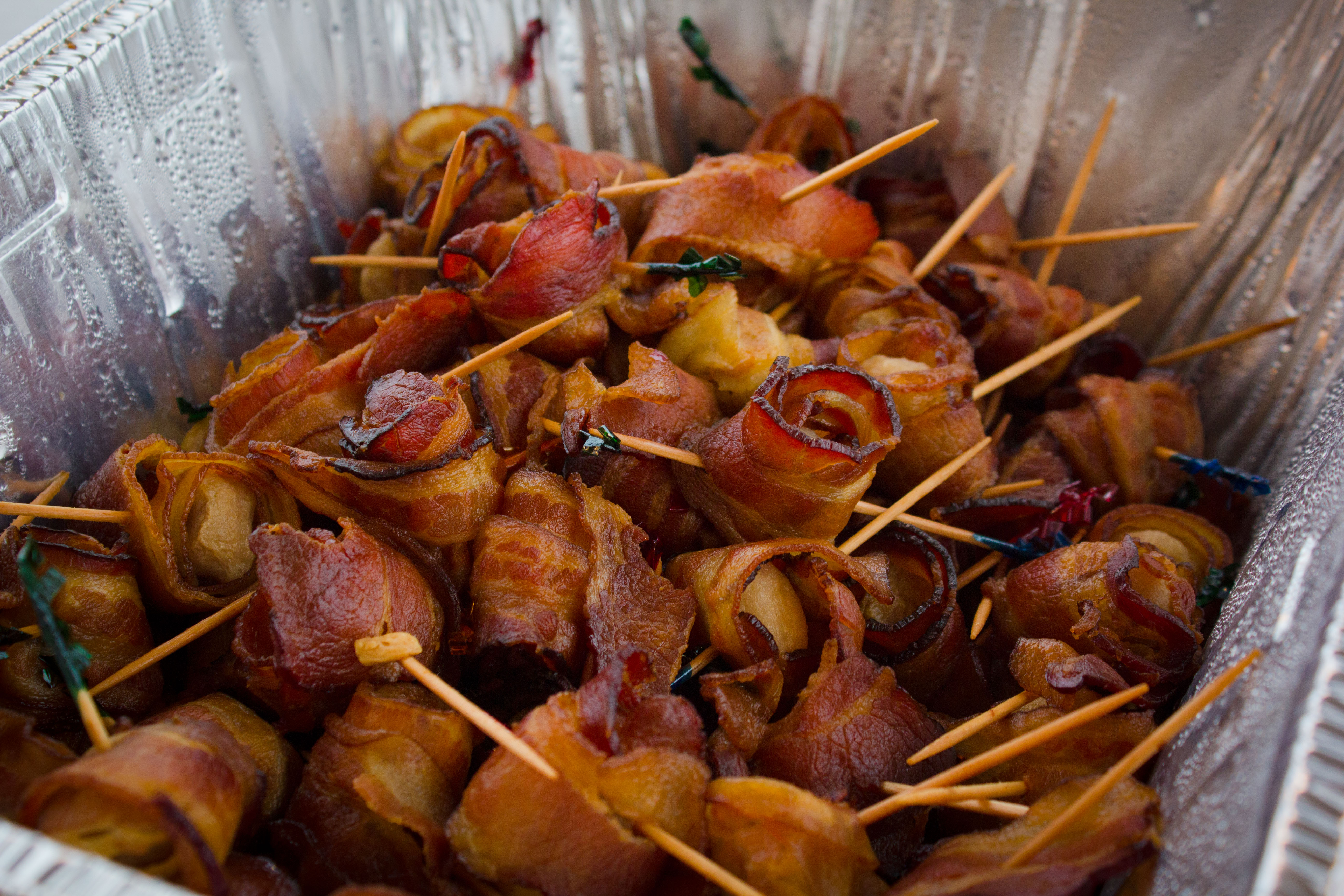 Bacon Wrapped Chestnuts-Catering-1
