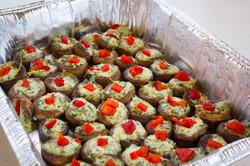 Stuffed Mushrooms Catering-1