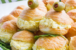Egg Salad Croissant Catering 5-1