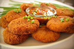 Crabcakes with Salsa-1